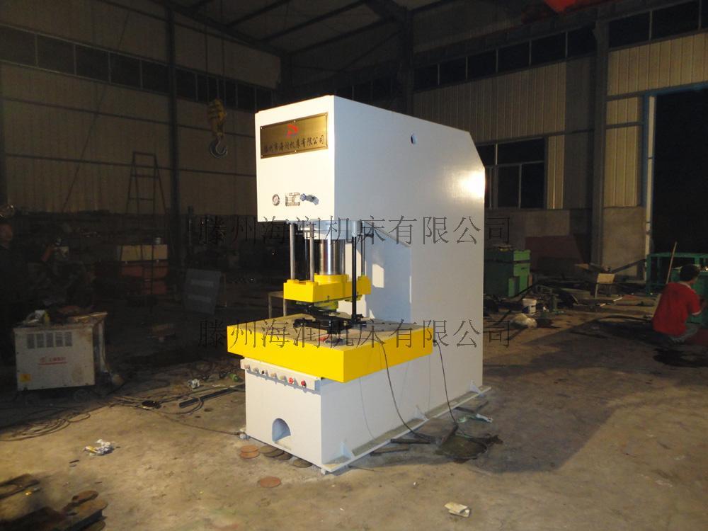 160t开式单柱液压机图片
